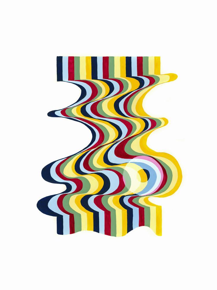 The Theory Of Colour Art   Sharon Bacal - Fine Art