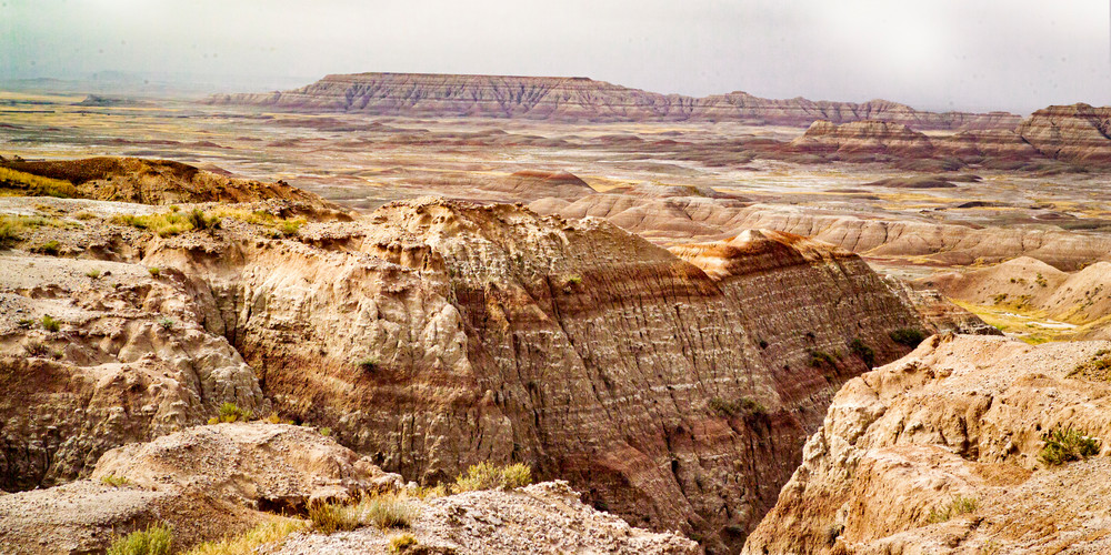Badlands Panorama Photography Art | Hatch Photo Artistry LLC