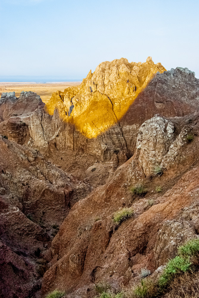 Badlands Formation Late Afternoon Photography Art | Eric Hatch