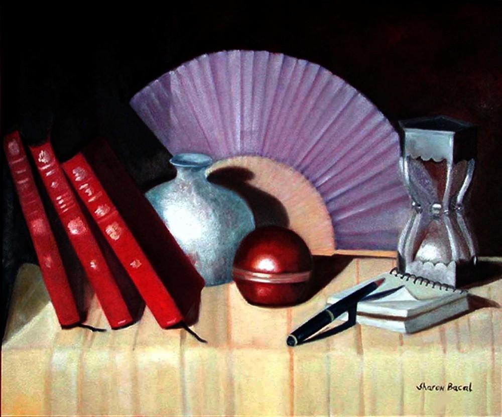 Zara Marking Time Art | Sharon Bacal - Fine Art