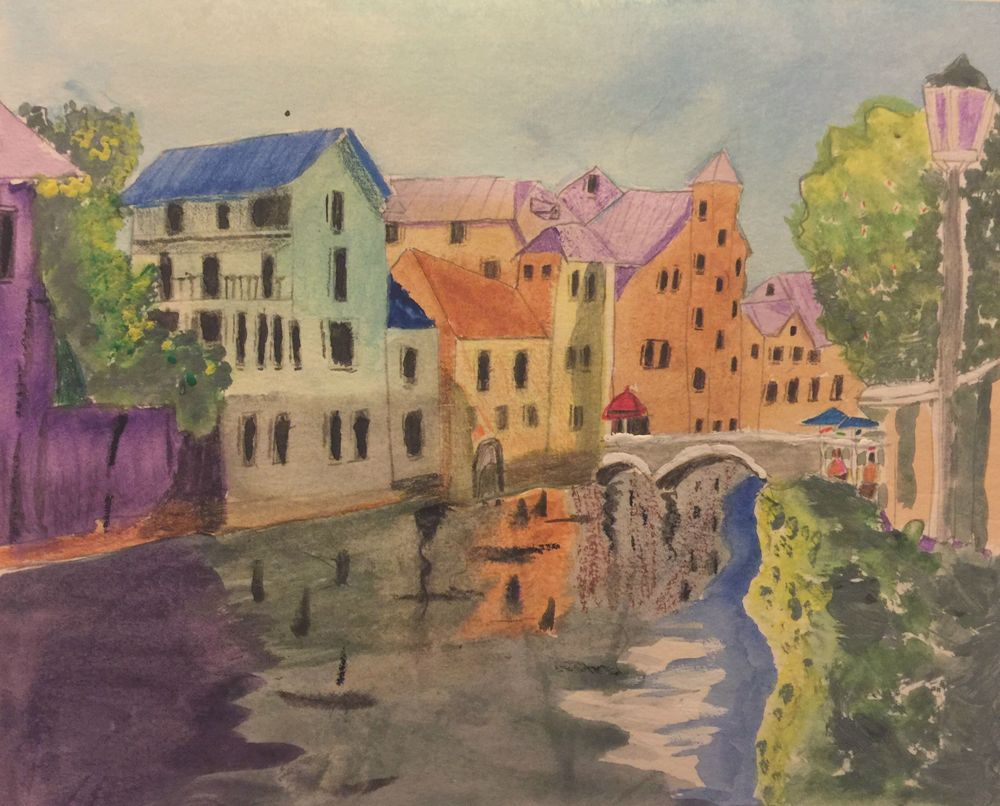 Bruges Canal Art | Scott Dyer Fine Art