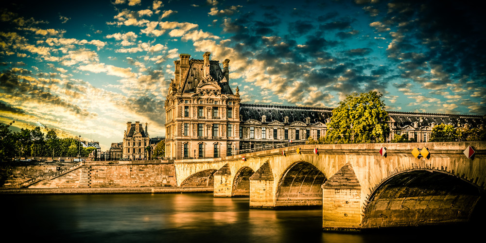 Across the Seine