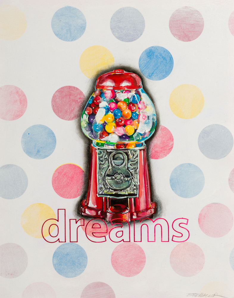 Bubblegum Dreams Art | Jeff Schaller