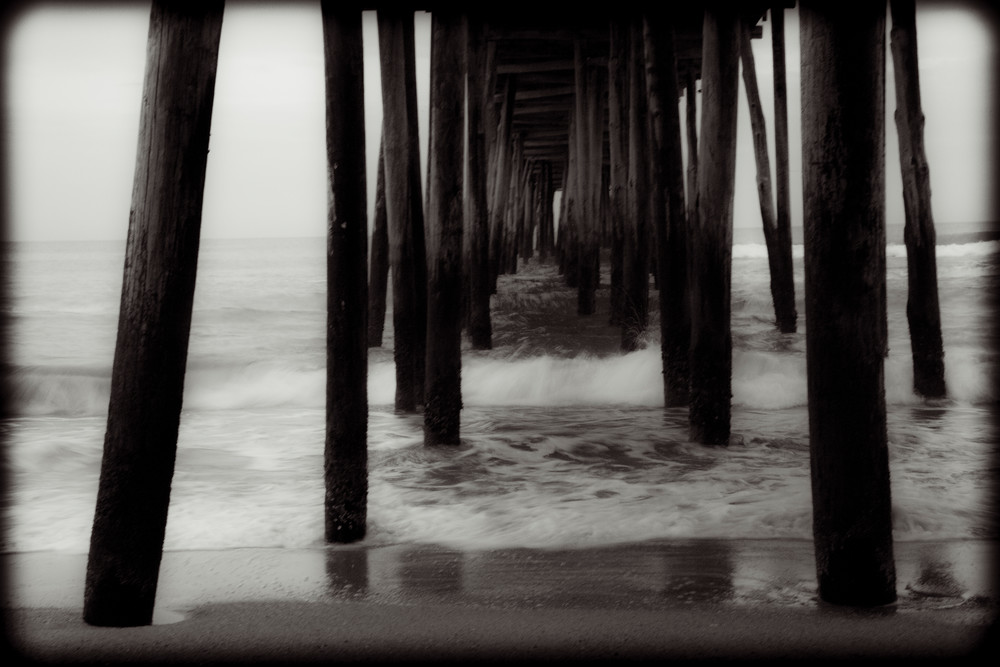 Beneath The Pier   Outer Banks Photography Art | David Frank Photography