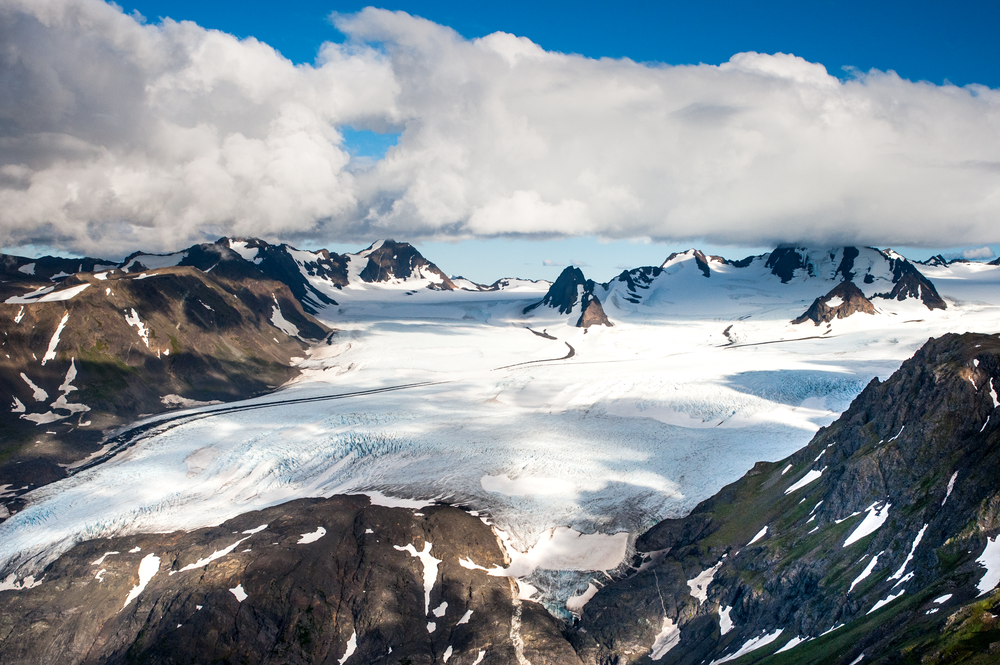 Grewingk Glacier Cloud Base Photography Art | Eric Hatch