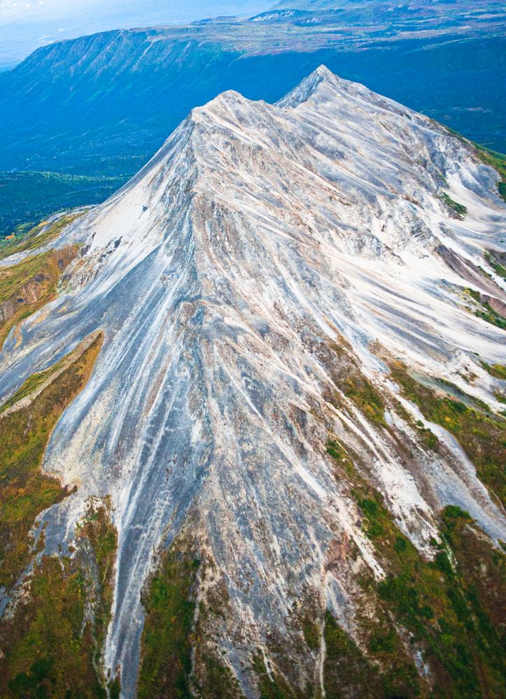 Mountain Spine Aerial Wrangell Mountains Alaska Photography Art | Hatch Photo Artistry LLC