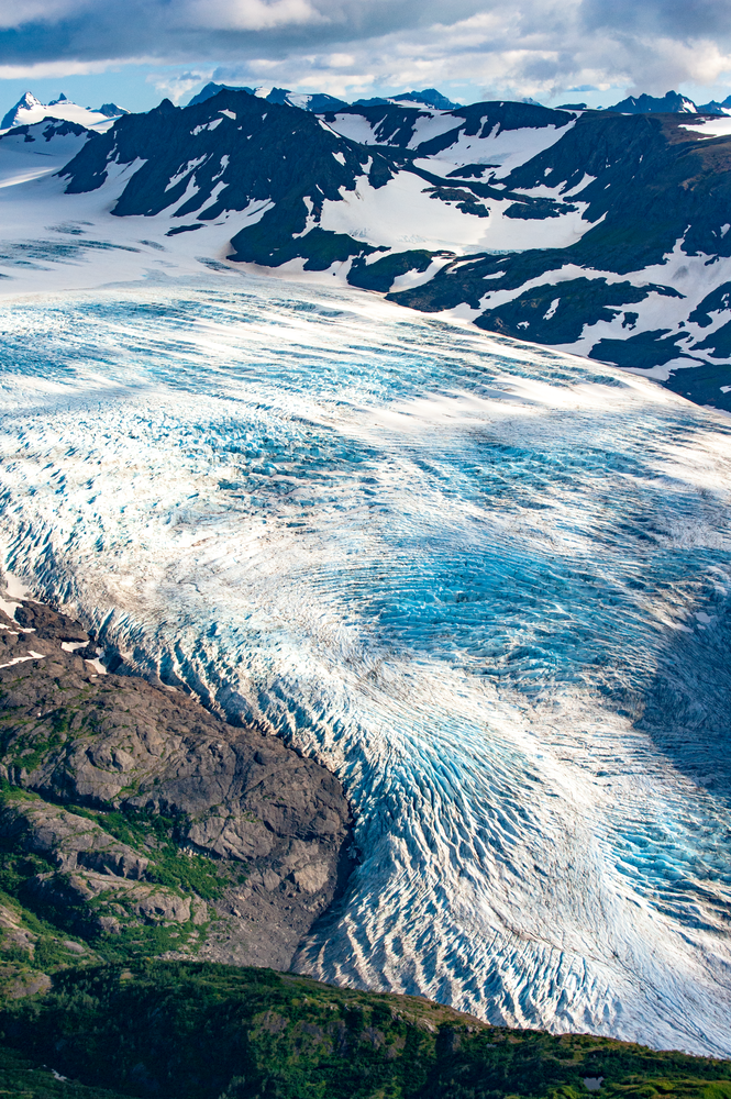 Portlock Glacier Aerial Photography Art | Hatch Photo Artistry LLC