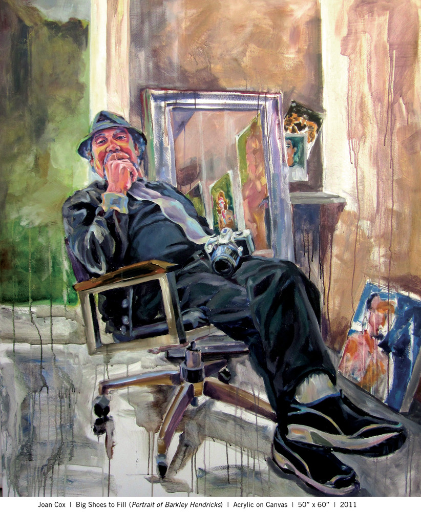 Big Shoes To Fill (Portrait Of Barkley Hendricks) Art   Joan Cox Art