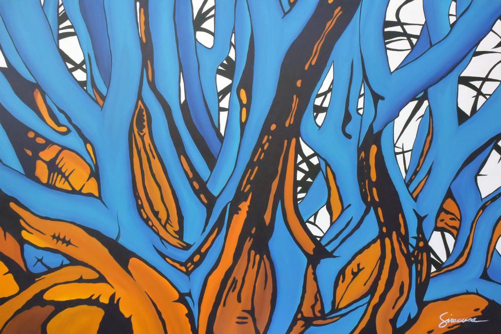 Through The Forest Open Edition Print Art | juliesiracusa