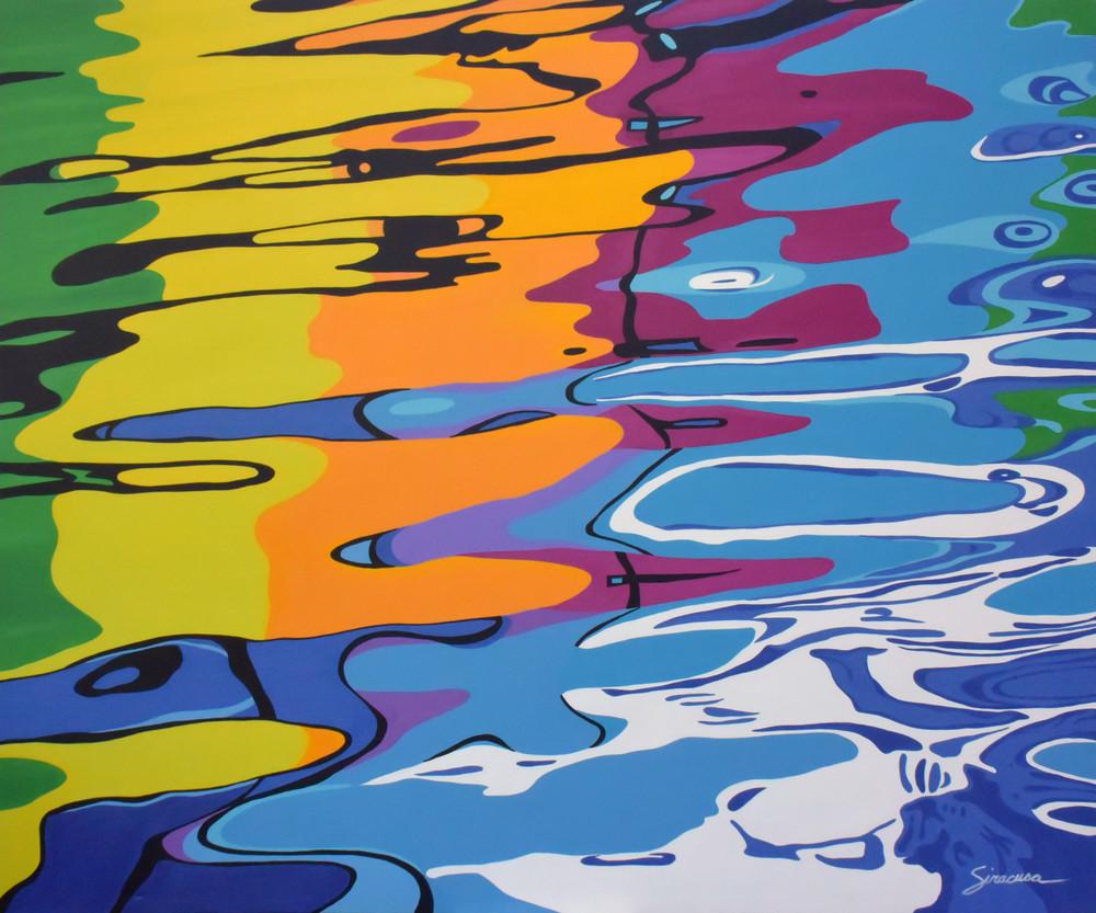 Making Waves Open Edition Print Art   juliesiracusa