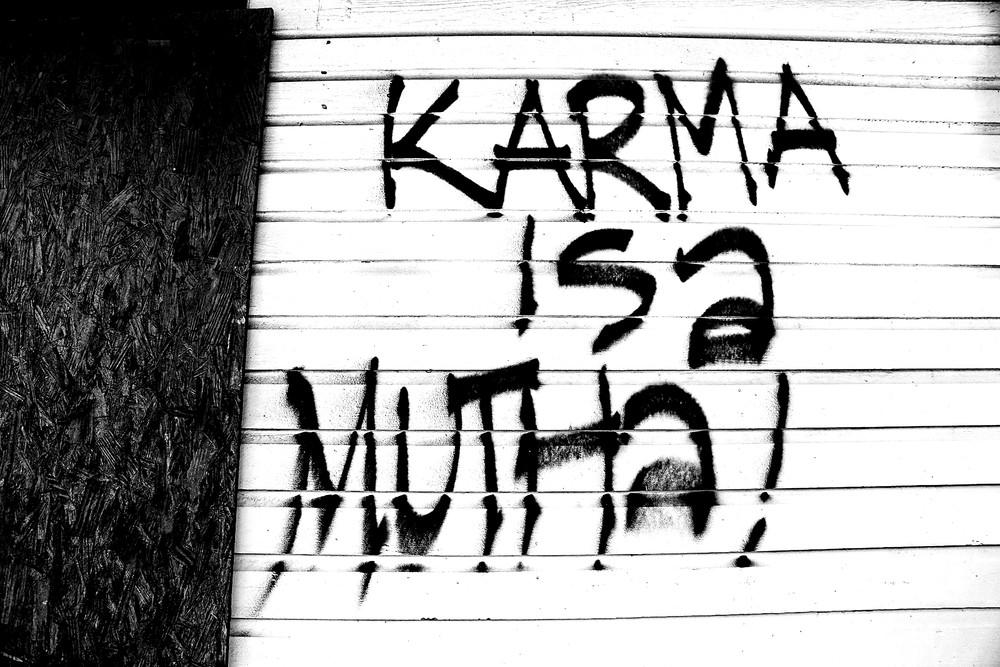 Mutha Karma Art | Chuck Redick Art