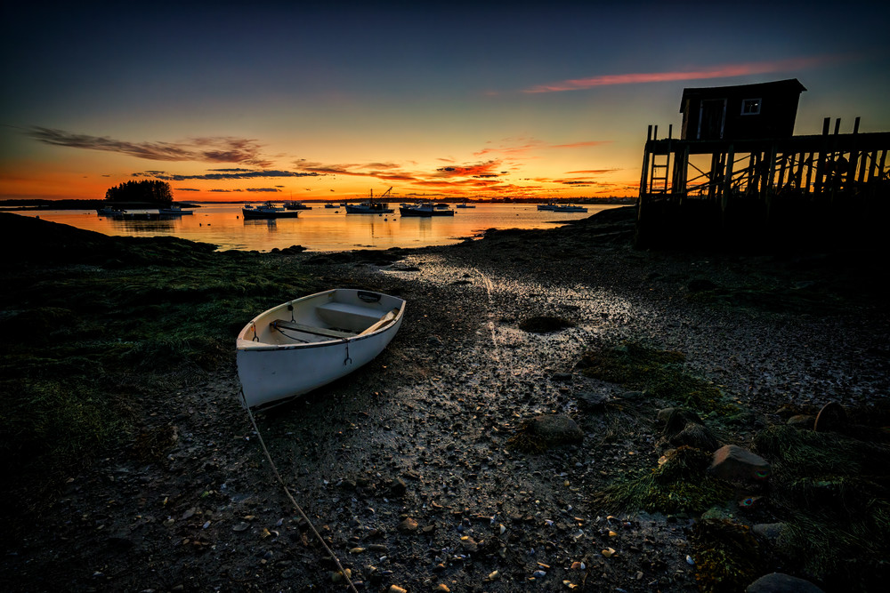 The Wharf at Low Tide | Shop Photography by Rick Berk