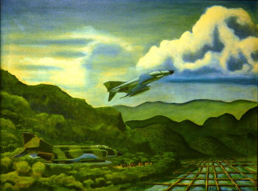 'hunters In The Valley' Art   John Simonis Art Gallery