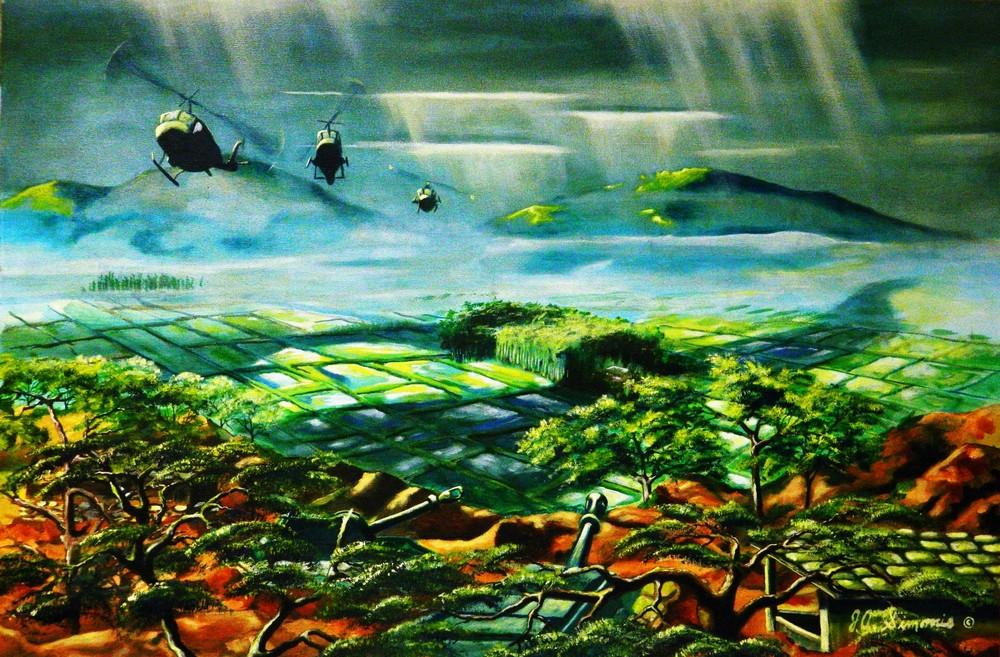 'shadow On The Valley' Art   John Simonis Art Gallery