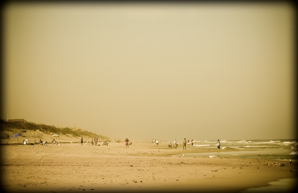 Yellow Beach Photography Art | David Frank Photography