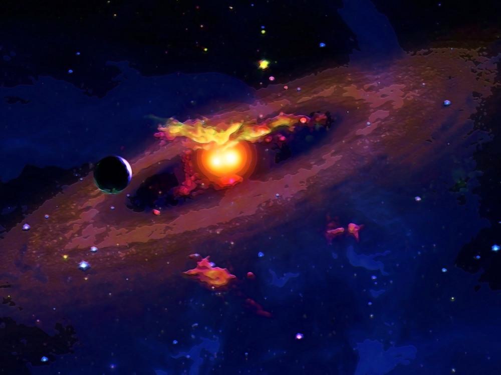 Galaxy Onlooker Art | Don White-Art Dreamer