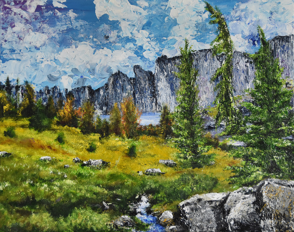 The Sierras Art | Anna Kim Studio