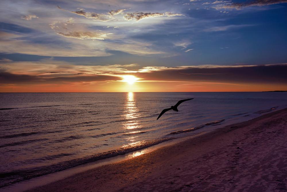 Orange Beach sunset photograph