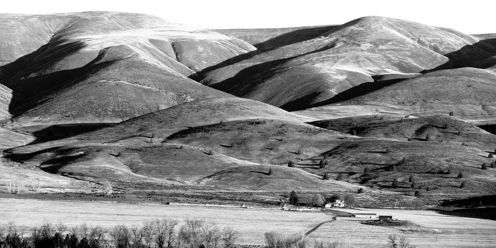 Oregon Hills Panorama Photography Art | Eric Hatch