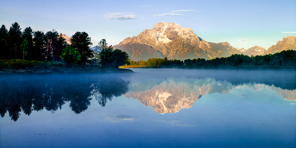 Grand Teton Dawn Mural Photography Art | Eric Hatch