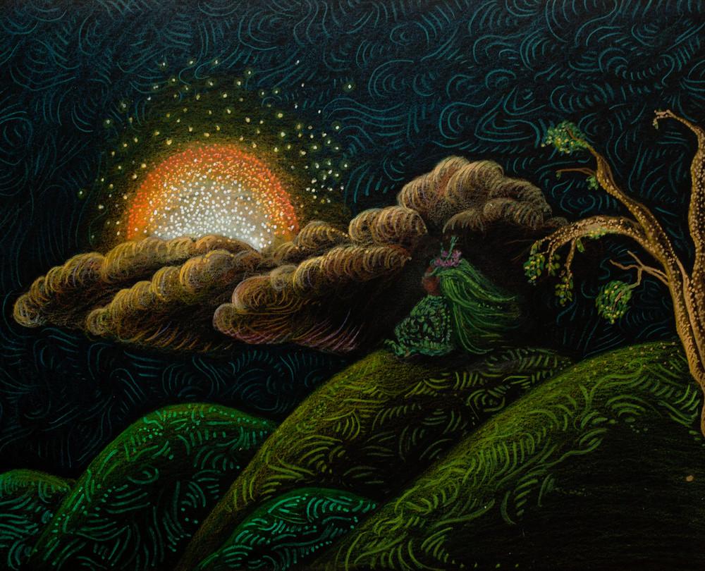 Intersection Of Sunset And Inspiration  Art | Angelica Hoyos Studio