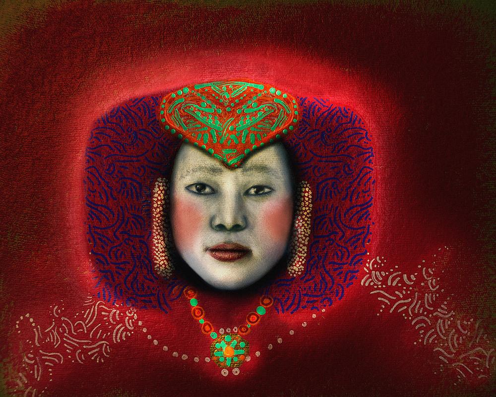 Colorful Roots Tibets  Art | Angelica Hoyos Studio