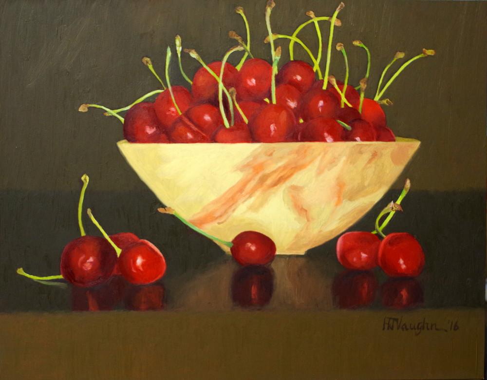 Life Is Just A Bowl Of Cherries Art | Helen Vaughn Fine Art