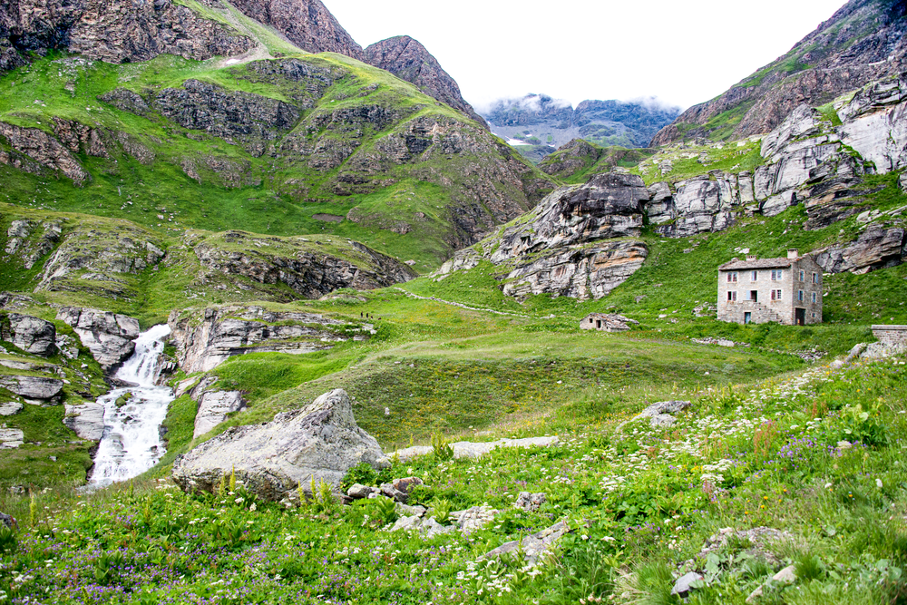 Stone House French Alps Photography Art | Hatch Photo Artistry LLC