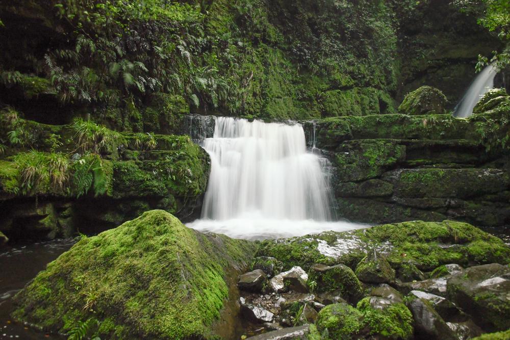 Lower Mc Lean Falls, New Zealand South Island Photography Art   Eric Hatch