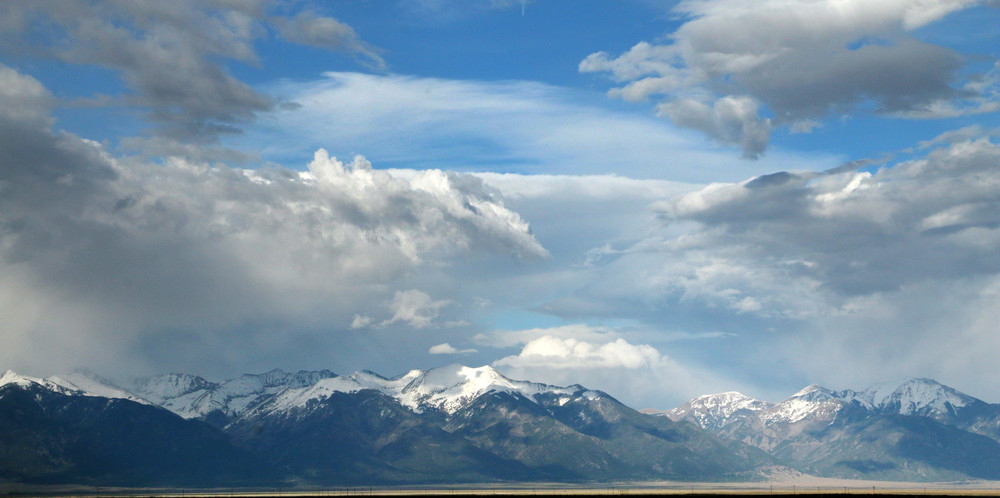 Sea of Clouds Near Great Sand Dunes National Park