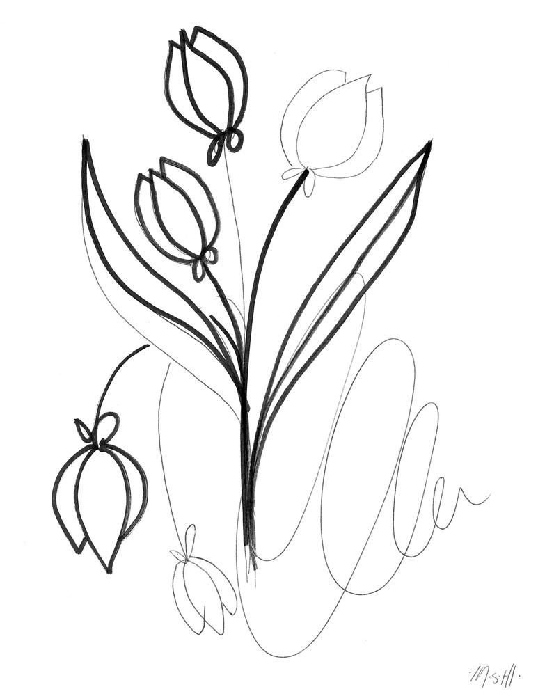 Tulip Art | ashalmonte