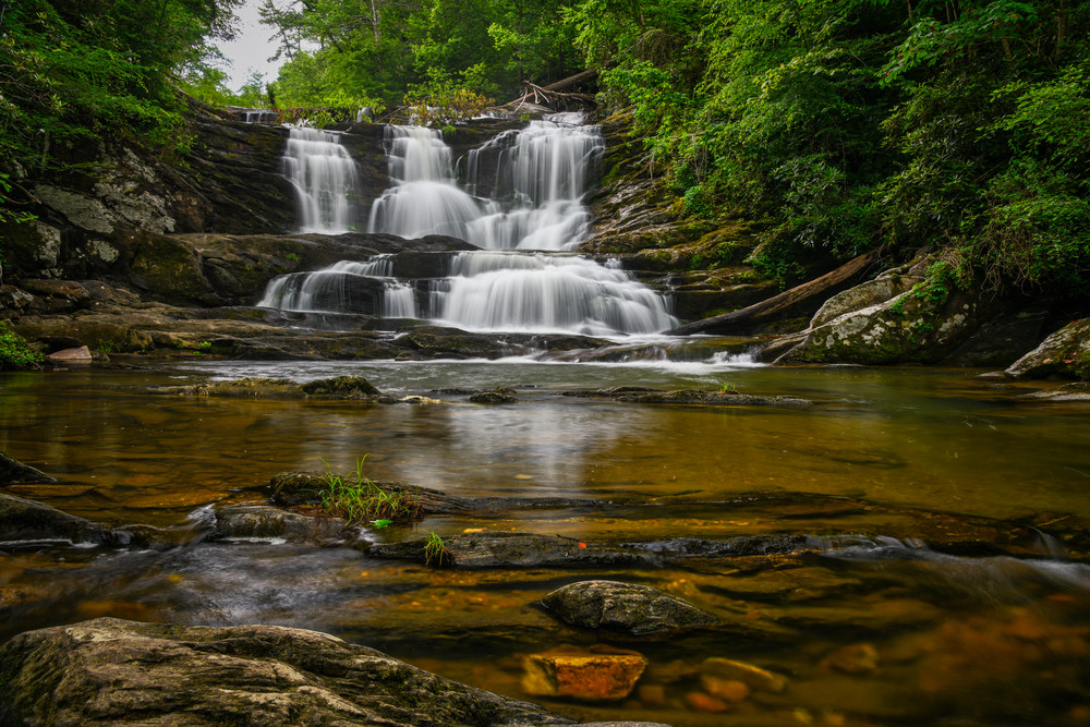 Conasauga Falls - Nantahala Mountains fine-art photography prints