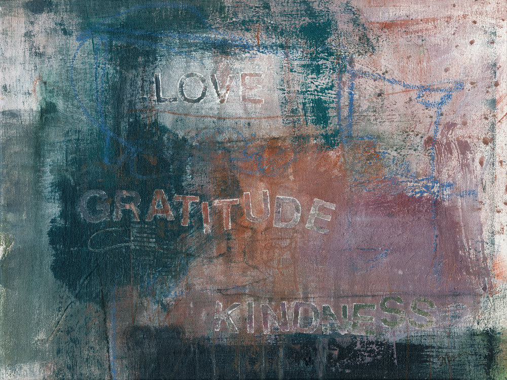 Give Me Your Words : : Love Gratitude Kindness Art | Stephanie Visser Fine Art