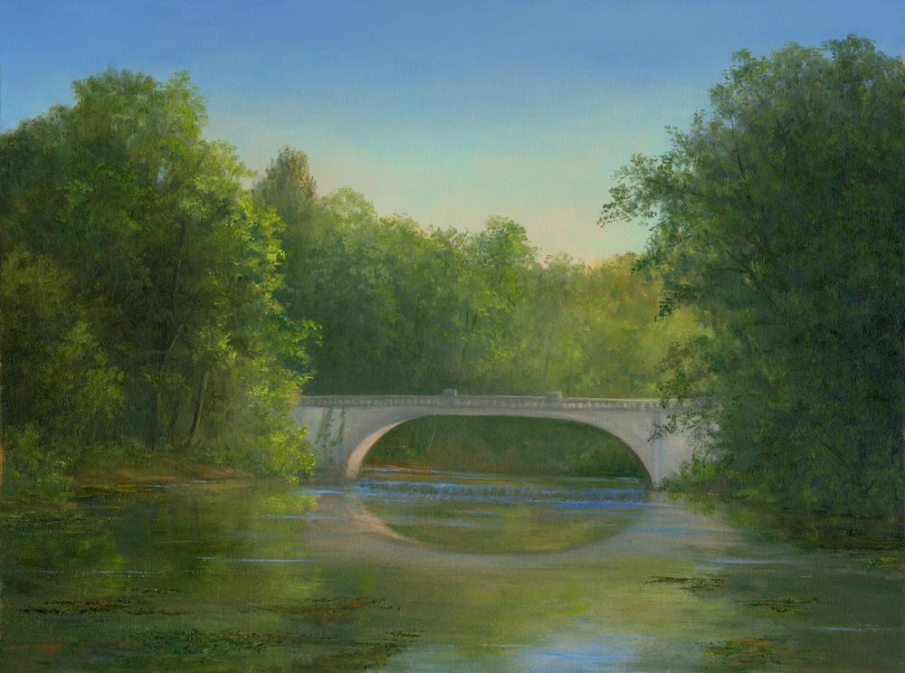 *Morning Light Across Vanderbilt Bridge Art | Tarryl Fine Art