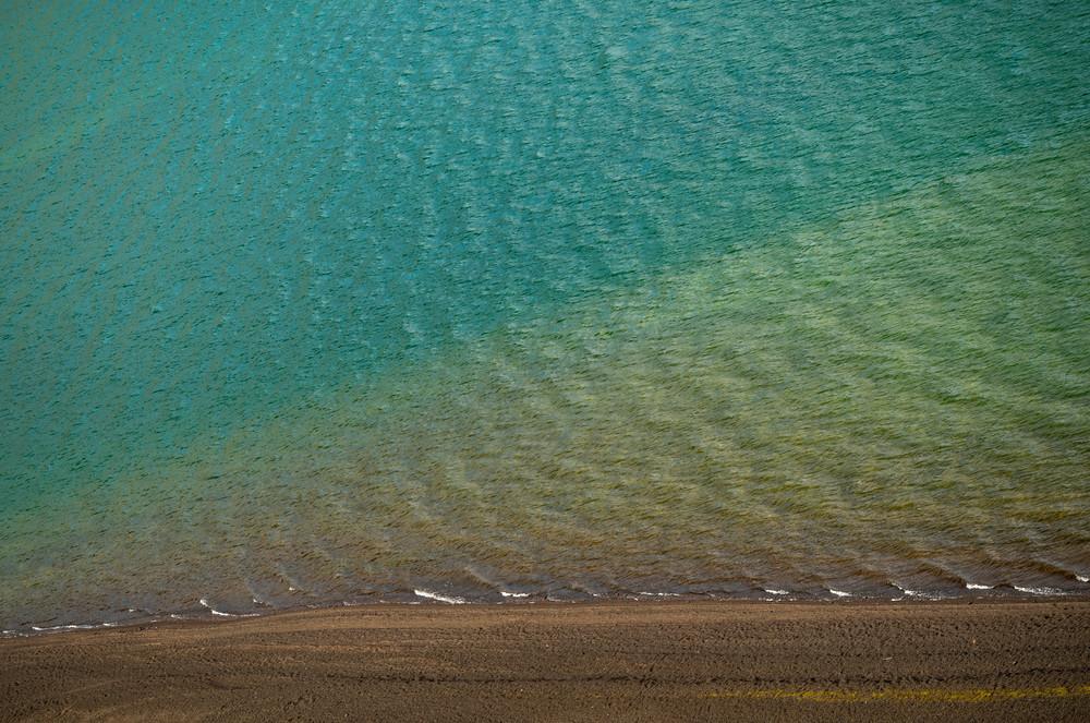 Colors of Frostastadavatn Lake