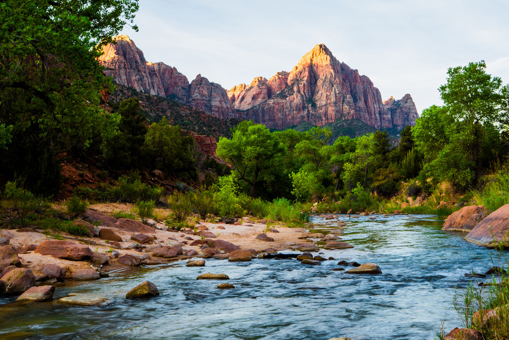 Sunrise On The Watchman Photography Art | Brokk Mowrey Photography