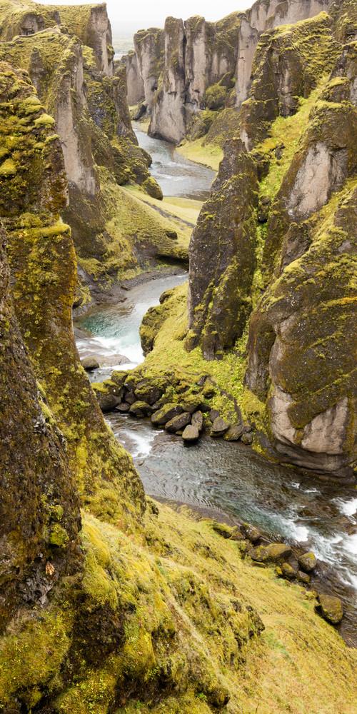 Iceland Canyon Photography Art | Brokk Mowrey Photography