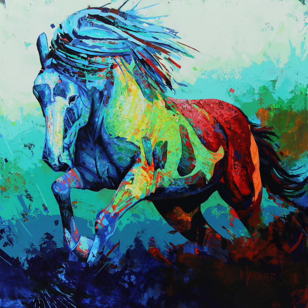 John the Horse, Marnier Art, Wildlife, Prints