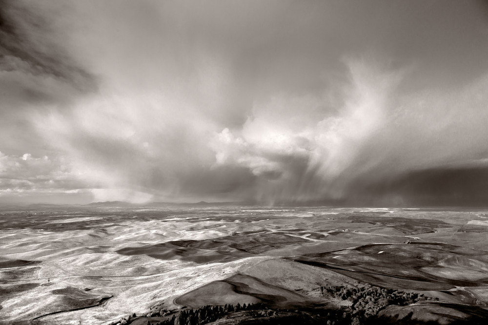 Steptoe Storm, Palouse Prairie,  # 7823 Photography Art | Mary Edwards Photography