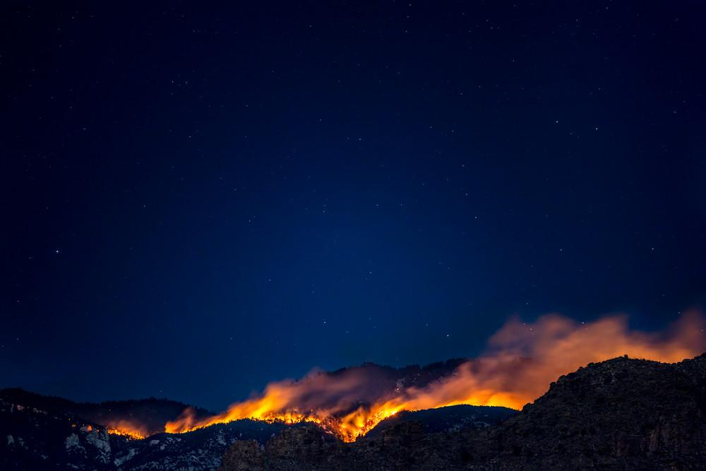 Bighorn Fire 6 30 2 Photography Art | Carol Brooks Parker Fine Art Photography