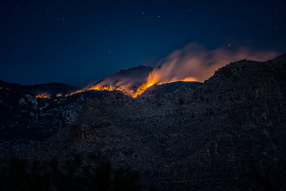 Bighorn Fire 6 30 1 Photography Art | Carol Brooks Parker Fine Art Photography