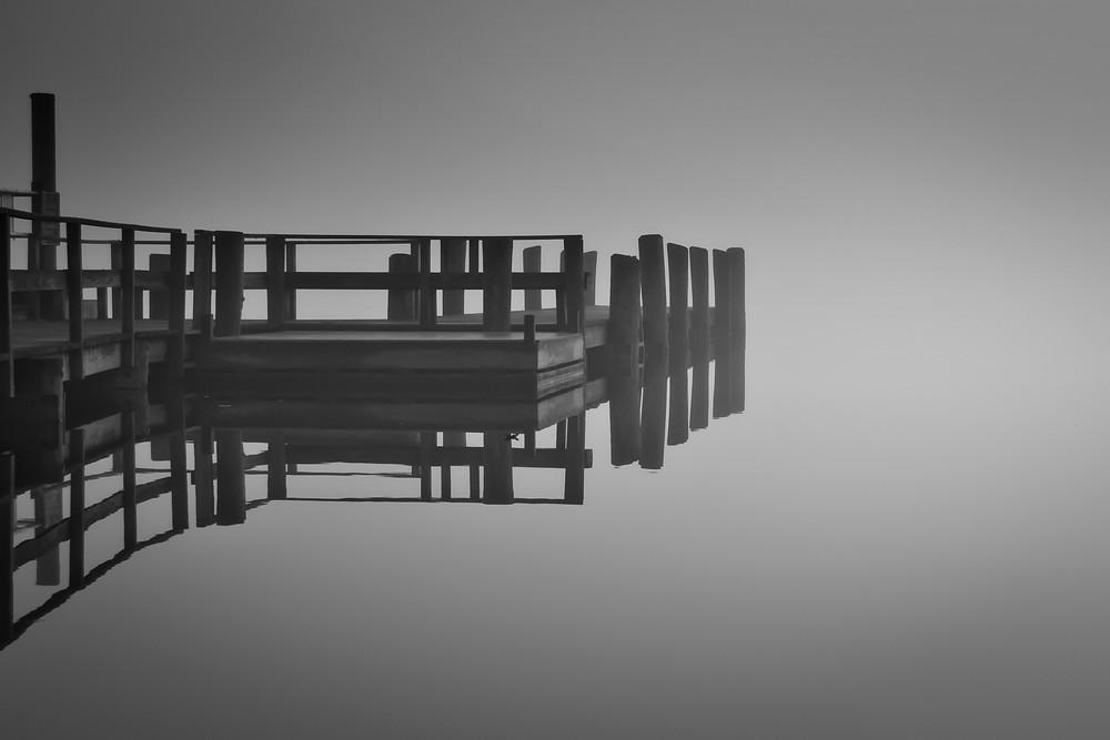 Essex Dock in Morning Fog