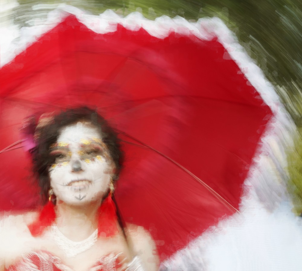 Red Umbrella Art | Danny Johananoff
