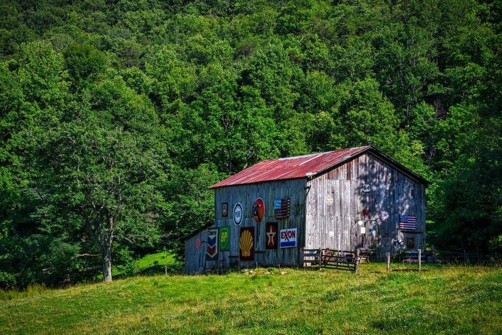 Old Signs On A Nantahala Barn Photography Art | Andy Crawford Photography - Fine-art photography