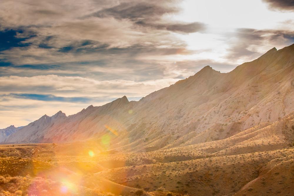 Sunburst Over The Swell Photography Art   Brokk Mowrey Photography