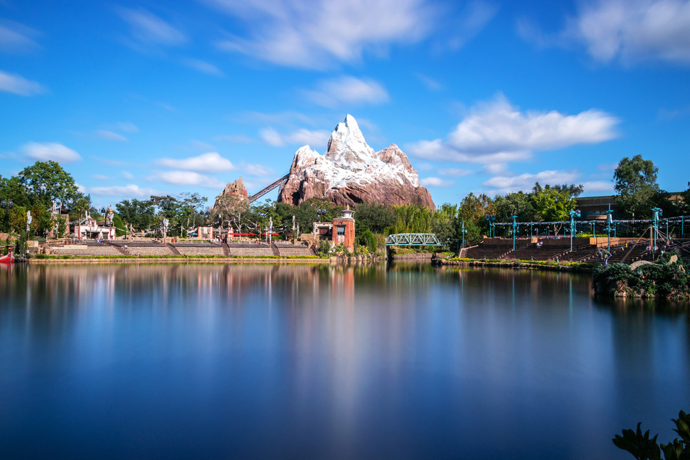 Expedition Everest Scenic View Photography Art | William Drew Photography