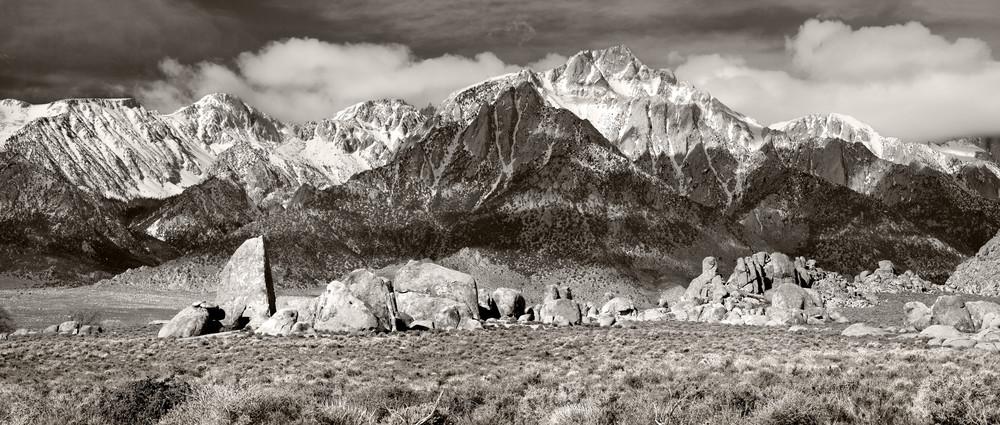 Lone Pine Peak  Eastside Of The Sierra Photography Art | Mary Edwards Photography