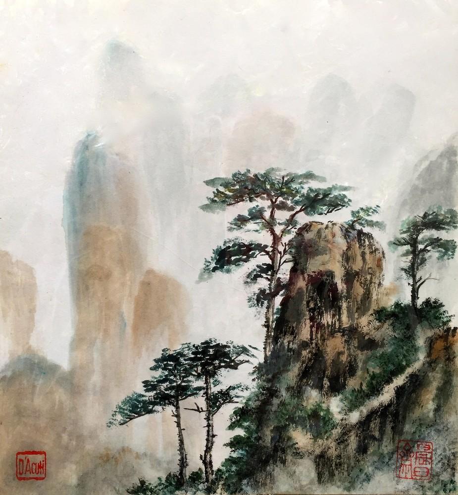 Yellow Mountain Art   donnadacuti