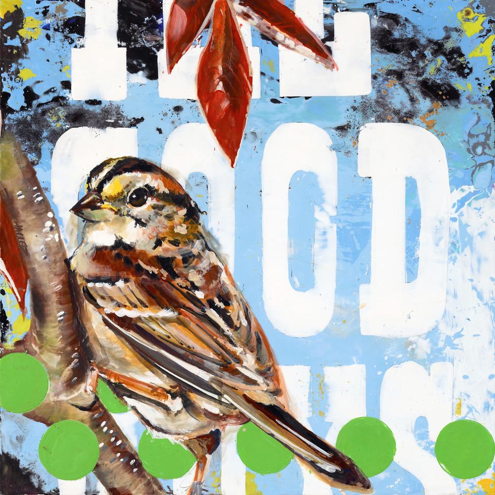 Good Guys Bird Art   Jeff Schaller