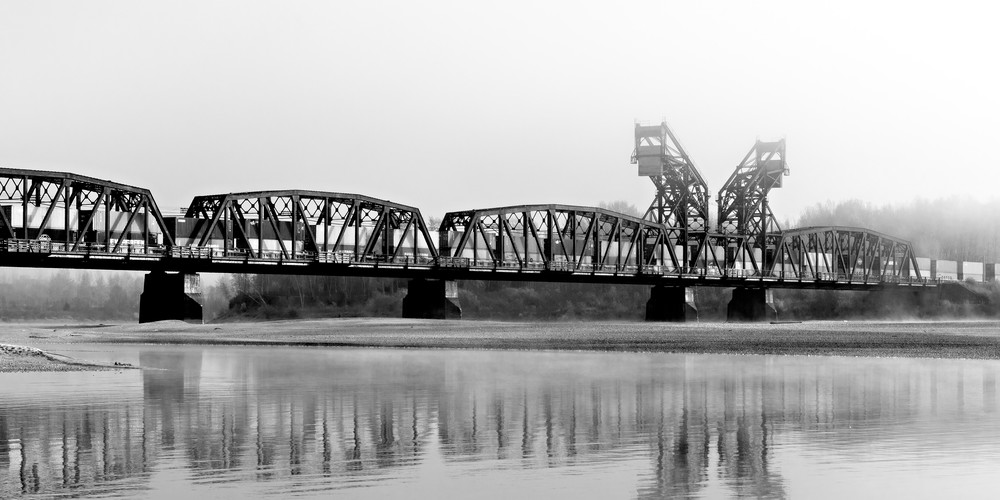 CN Train Bridge No 7 | Terrill Bodner Photographic Art